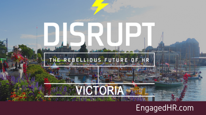 PRESS RELEASE: The Rebellious Future of HR Live in Victoria!