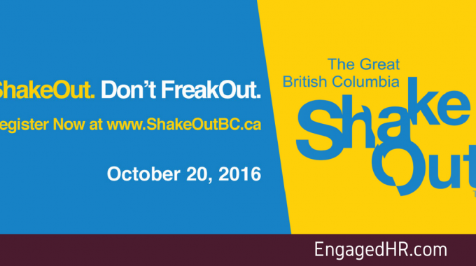 ShakeOut. Don't FreakOut.