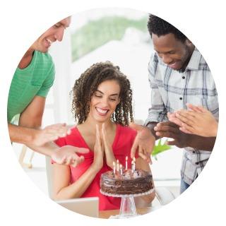 Team-building blog birthday