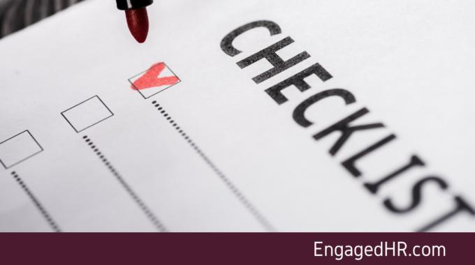 Managing A Pandemic – HR Checklist