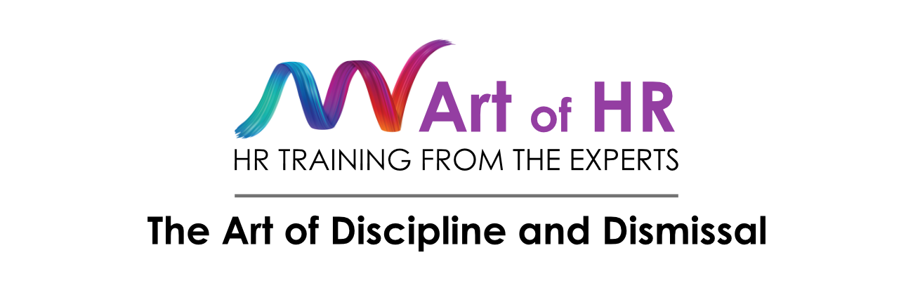 Art of Discipline and Dismissal