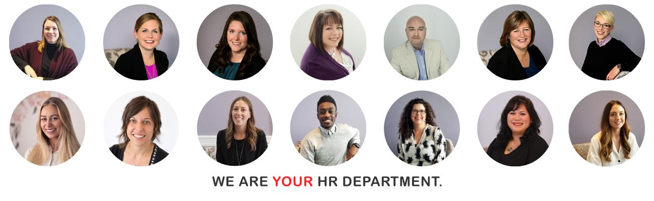 Engaged HR Team